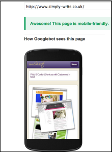 Check whether your web pages pass the Google mobile-friendly test - and how to improve your search rankings